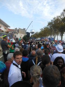 + de 8 000 coureurs avant le départ
