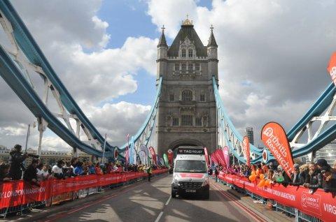 Tower Bridge : 20ème KM