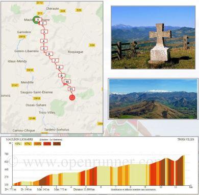 Etape 1 - Mauléon --> La Madeleine - Tour de la Soule