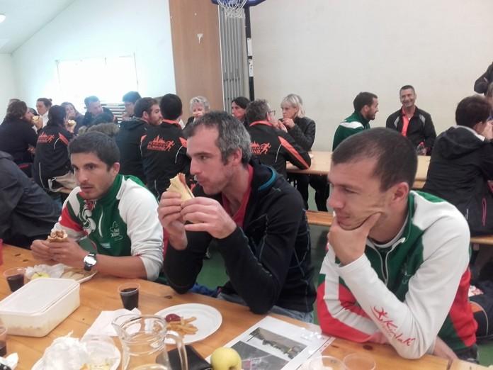 Pause repas à Alçay