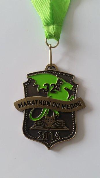 Médaille du finisher
