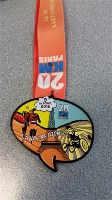 Médaille de finisher