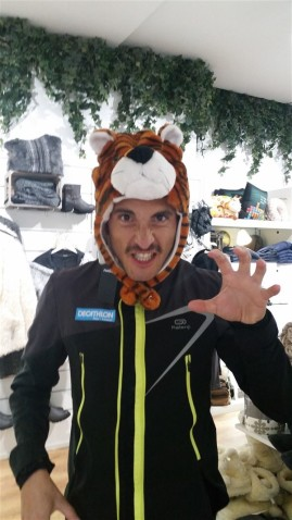L'oeil du tigre !!