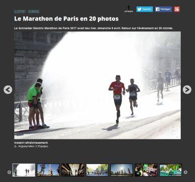 Dans le diaporama de l'Equipe.fr :)