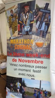 RDV le samedi 10/11/2018 à Jarnac pour le Marathon du COGNAC