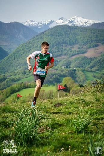 Clément sur le 13km