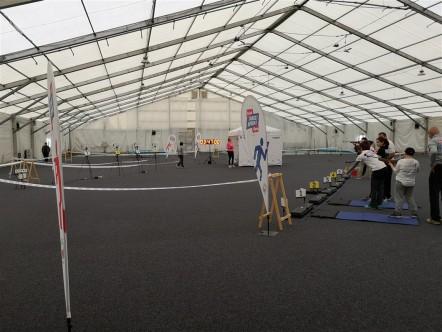 Initiation parcours biathlon