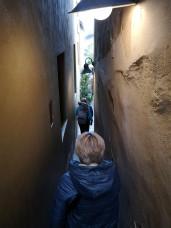 Rue la plus étroite de Prague (50cm de large)