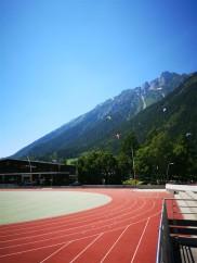 Belle piste dans Chamonix