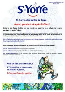St-Yorre Running - CP1